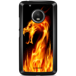 Bjornberry Skal Moto G5 Plus - Flames Dragon
