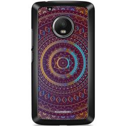 Bjornberry Skal Moto G5 Plus - Lila/Guld Mandala