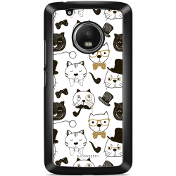 Bjornberry Skal Moto G5 Plus - Tecknade Katter