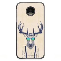 Bjornberry Skal Motorola Moto G5S Plus - Hipster Älg