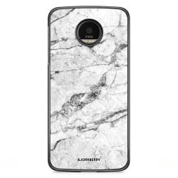 Bjornberry Skal Motorola Moto G5S Plus - Vit Marmor