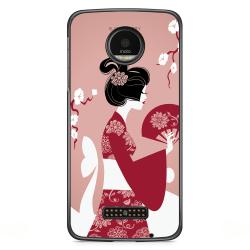 Bjornberry Skal Motorola Moto Z - Japansk Kvinna