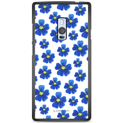 Bjornberry Skal OnePlus 2 - Blå Blommor