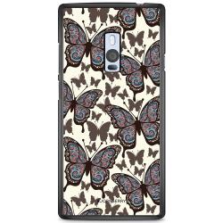 Bjornberry Skal OnePlus 2 - Färgglada Fjärilar