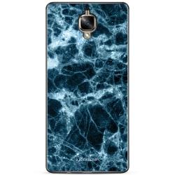 Bjornberry Skal OnePlus 3 / 3T - Blå Marmor