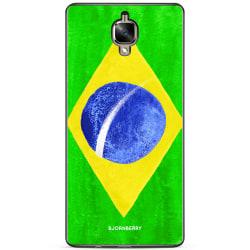 Bjornberry Skal OnePlus 3 / 3T - Brasiliens Flagga