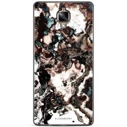 Bjornberry Skal OnePlus 3 / 3T - Brun Marmor