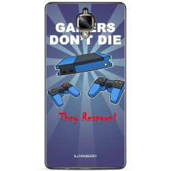 Bjornberry Skal OnePlus 3 / 3T - Gamers Dont Die