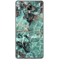 Bjornberry Skal OnePlus 3 / 3T - Grön Marmor