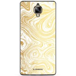 Bjornberry Skal OnePlus 3 / 3T - Guld Marmor