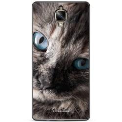 Bjornberry Skal OnePlus 3 / 3T - Katt Blå Ögon