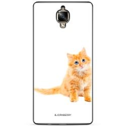 Bjornberry Skal OnePlus 3 / 3T - Liten Brun Katt