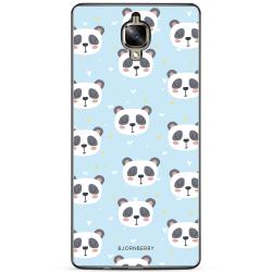 Bjornberry Skal OnePlus 3 / 3T - Pandamönster