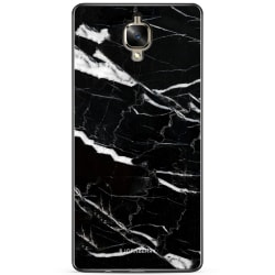 Bjornberry Skal OnePlus 3 / 3T - Svart Marmor