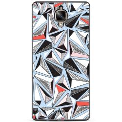 Bjornberry Skal OnePlus 3 / 3T - Triangelmönster