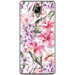 Bjornberry Skal OnePlus 3 / 3T - Vattenfärg Blommor