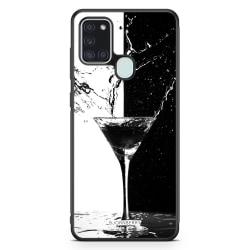 Bjornberry Skal Samsung Galaxy A21s - Drink Splash