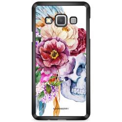 Bjornberry Skal Samsung Galaxy A3 (2015) - Dödskalle Blommor