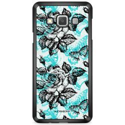 Bjornberry Skal Samsung Galaxy A3 (2015) - Fjärilar & Rosor