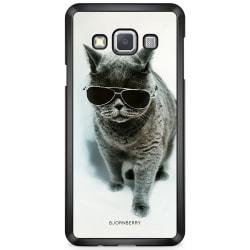 Bjornberry Skal Samsung Galaxy A3 (2015) - Katt Glasögon