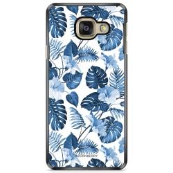 Bjornberry Skal Samsung Galaxy A3 6 (2016)- Blå Blommor