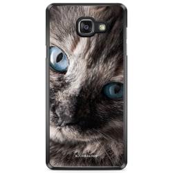 Bjornberry Skal Samsung Galaxy A5 7 (2017)- Katt Blå Ögon