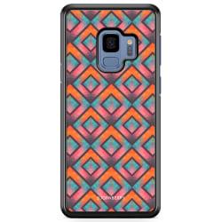 Bjornberry Skal Samsung Galaxy A8 (2018) - Retro Fyrkanter