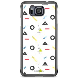 Bjornberry Skal Samsung Galaxy Alpha - 80-tals Mönster