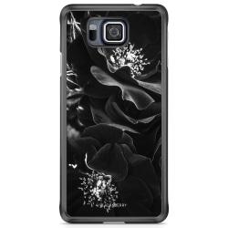 Bjornberry Skal Samsung Galaxy Alpha - Blommor i Blom