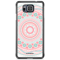 Bjornberry Skal Samsung Galaxy Alpha - Pastell Mandala