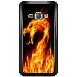 Bjornberry Skal Samsung Galaxy J1 (2016) - Flames Dragon