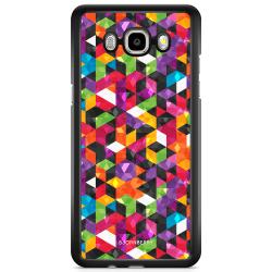 Bjornberry Skal Samsung Galaxy J3 (2016) - Abstrakt Mönster
