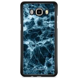 Bjornberry Skal Samsung Galaxy J3 (2016) - Blå Marmor