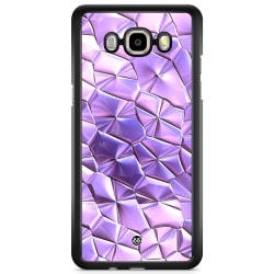 Bjornberry Skal Samsung Galaxy J3 (2016) - Purple Crystal