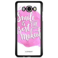 Bjornberry Skal Samsung Galaxy J3 (2016) - Smile Citat