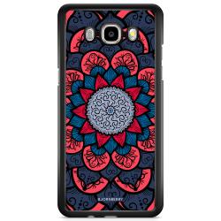 Bjornberry Skal Samsung Galaxy J5 (2015) - Blå Mandala