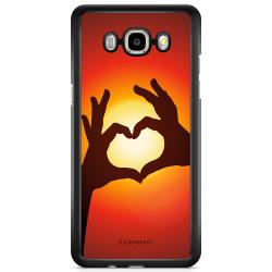 Bjornberry Skal Samsung Galaxy J5 (2016) - Hand Hjärta