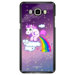 Bjornberry Skal Samsung Galaxy J7 (2016) - Bajsande Enhörning