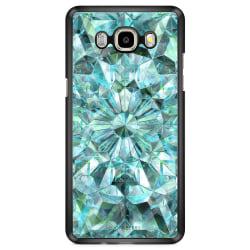 Bjornberry Skal Samsung Galaxy J7 (2016) - Gröna Kristaller