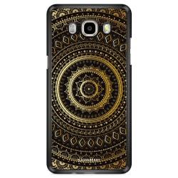 Bjornberry Skal Samsung Galaxy J7 (2016) - Guld Mandala