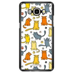 Bjornberry Skal Samsung Galaxy J7 (2016) - Kattmönster