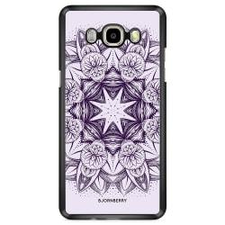 Bjornberry Skal Samsung Galaxy J7 (2016) - Lila Mandala