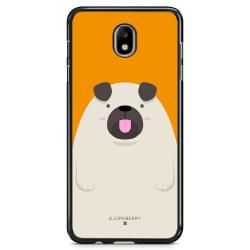 Bjornberry Skal Samsung Galaxy J7 (2017) - Fet Mops