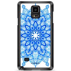 Bjornberry Skal Samsung Galaxy Note 4 - Blå Mandala
