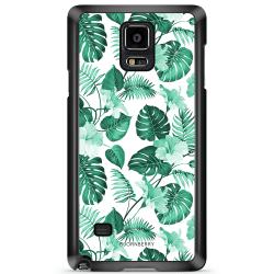 Bjornberry Skal Samsung Galaxy Note 4 - Blommor Turkos