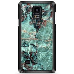 Bjornberry Skal Samsung Galaxy Note 4 - Grön Marmor