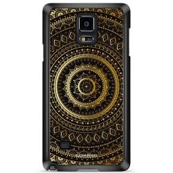 Bjornberry Skal Samsung Galaxy Note 4 - Guld Mandala