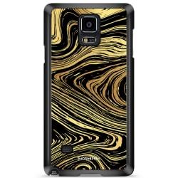 Bjornberry Skal Samsung Galaxy Note 4 - Guld Marmor