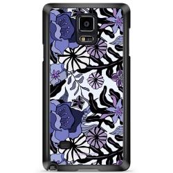 Bjornberry Skal Samsung Galaxy Note 4 - Lila Blommor