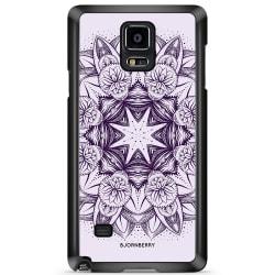 Bjornberry Skal Samsung Galaxy Note 4 - Lila Mandala